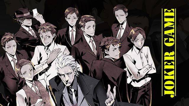 Joker Game Sub Indo : Episode 1-12 END | Anime Loker