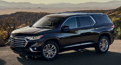 Discover the Totally Redesigned 2018 Chevy Traverse