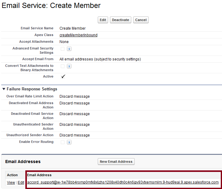 Infallible Techie: Inbound Email - Creating record using