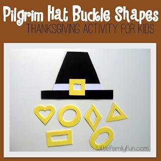 http://www.littlefamilyfun.com/2013/11/pilgrim-hat-activity.html