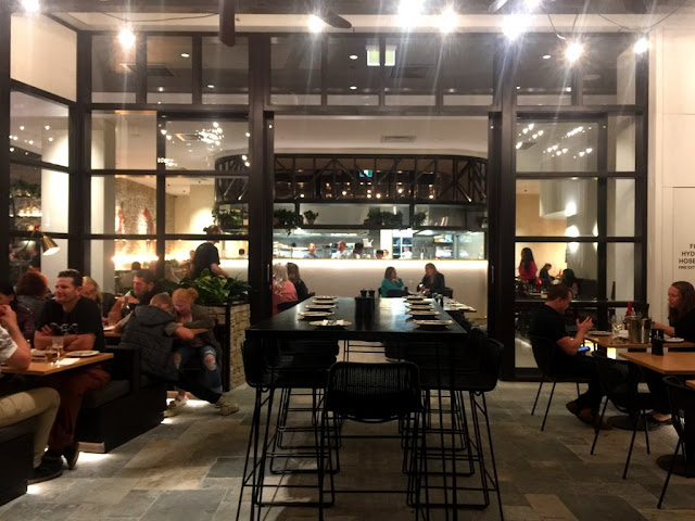 Dining at Hermosa, Westfield Chermside