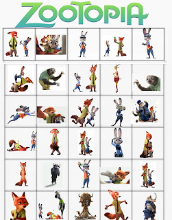 free printable zootopia party games