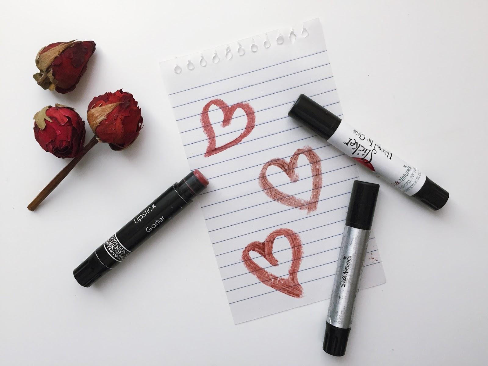 Silk Naturals Lipsticks velvet matte garter jaybird review swatches hellolindasau