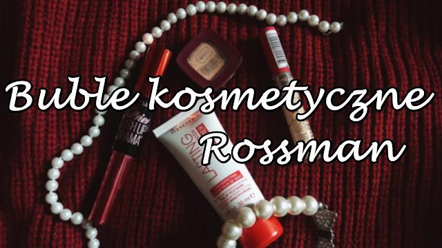 Rabat -49%, -55% Rossmann - czego nie kupować?