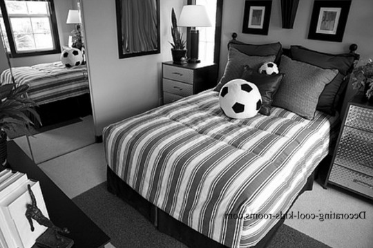 Soccer Decorations For Bedroom