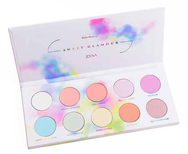 Sweet Glamour Eyeshadow Palette de Zoeva