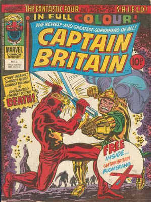 Marvel UK, Captain Britain #2