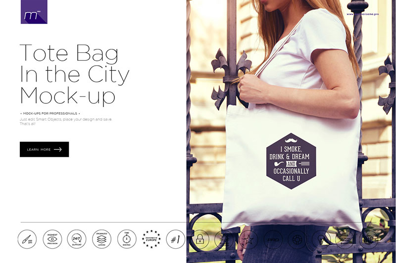Tote Bag Mock-up