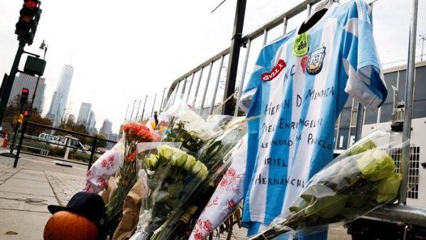 Familias de argentinos fallecidos en atentado llegan a Nueva York