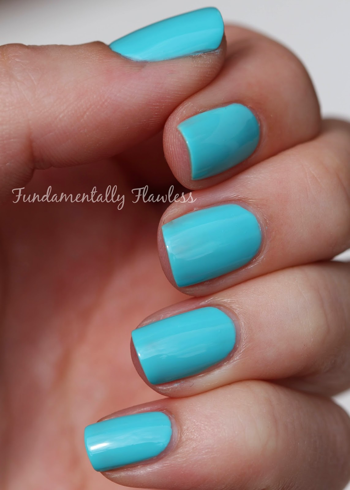 Fundamentally Flawless No 7 Gel Look Shine Summer Nail Colour Lemon Drop And Mint Treat