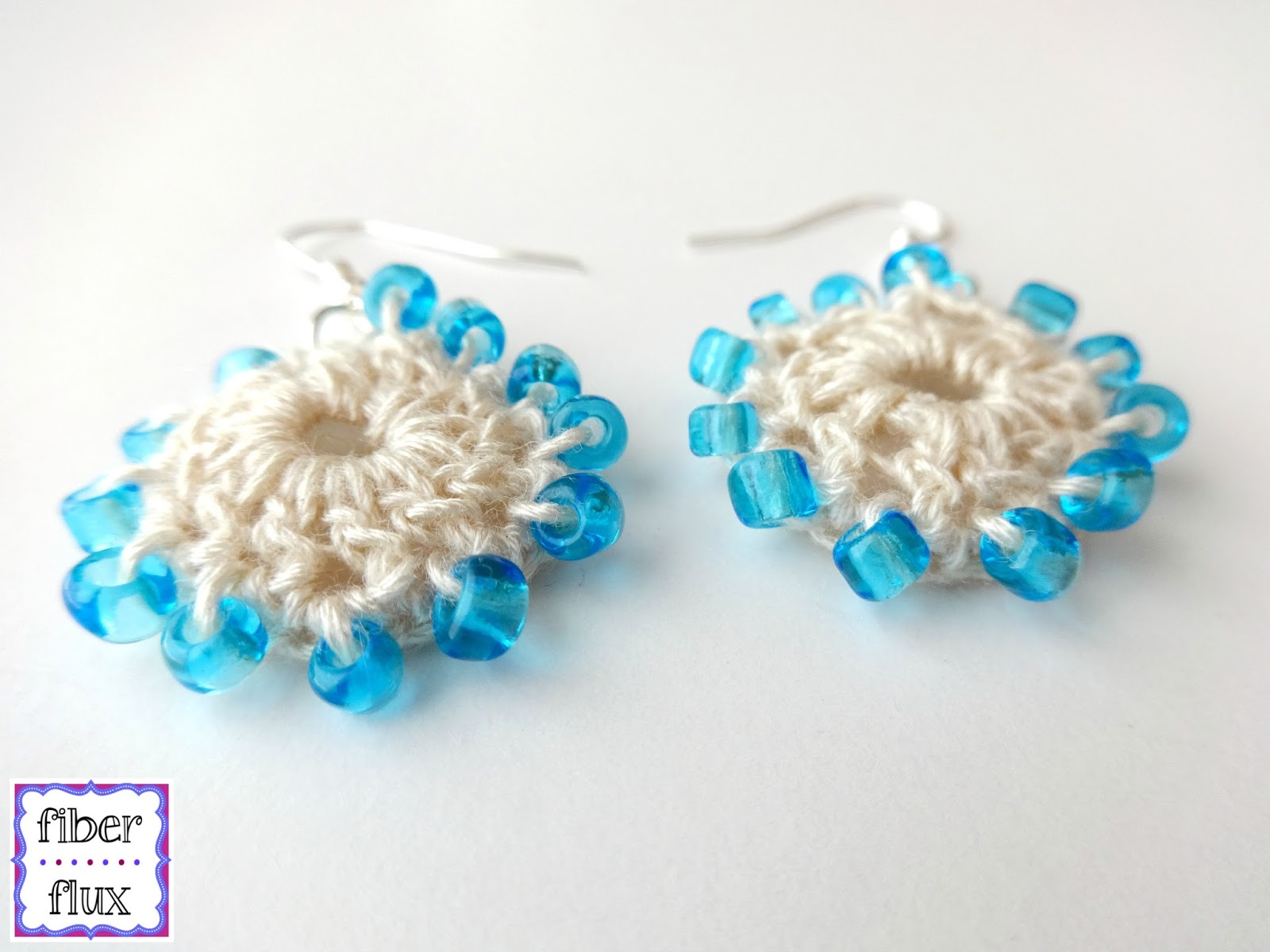 beach earrings patternbeach flux fiber free wedding pattern crochet