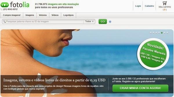 Como vender fotos pela internet no Fotolia