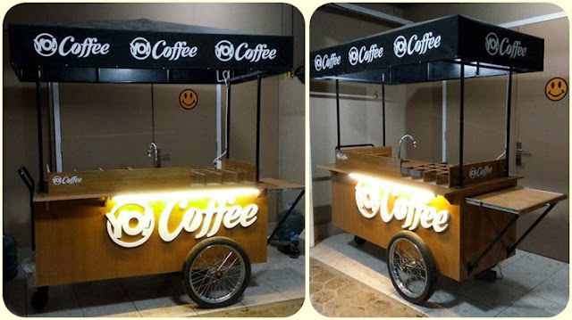 Gerobak kopi Keliling