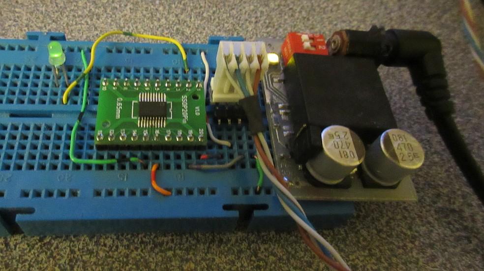Hardware by design: ARM - STM32F030F4 Breakout board