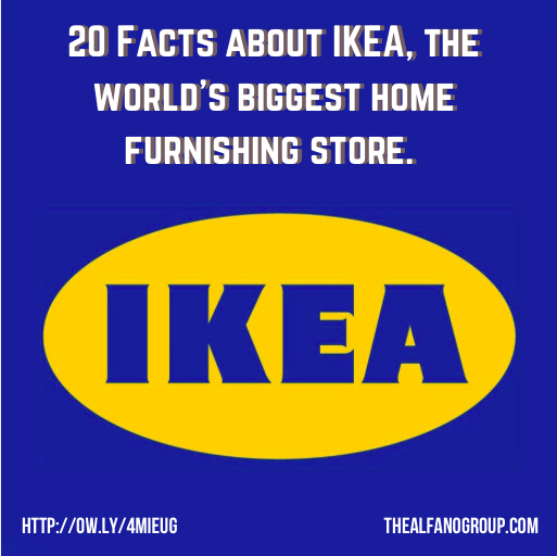 Thesuperstore Info: The Alfano Group: 20 More Facts About IKEA, The World's