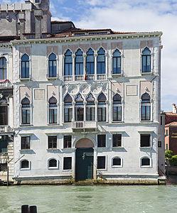 Scamozzi's Palazzo Contarini degli Scrigni on the Grand Canal in Venice
