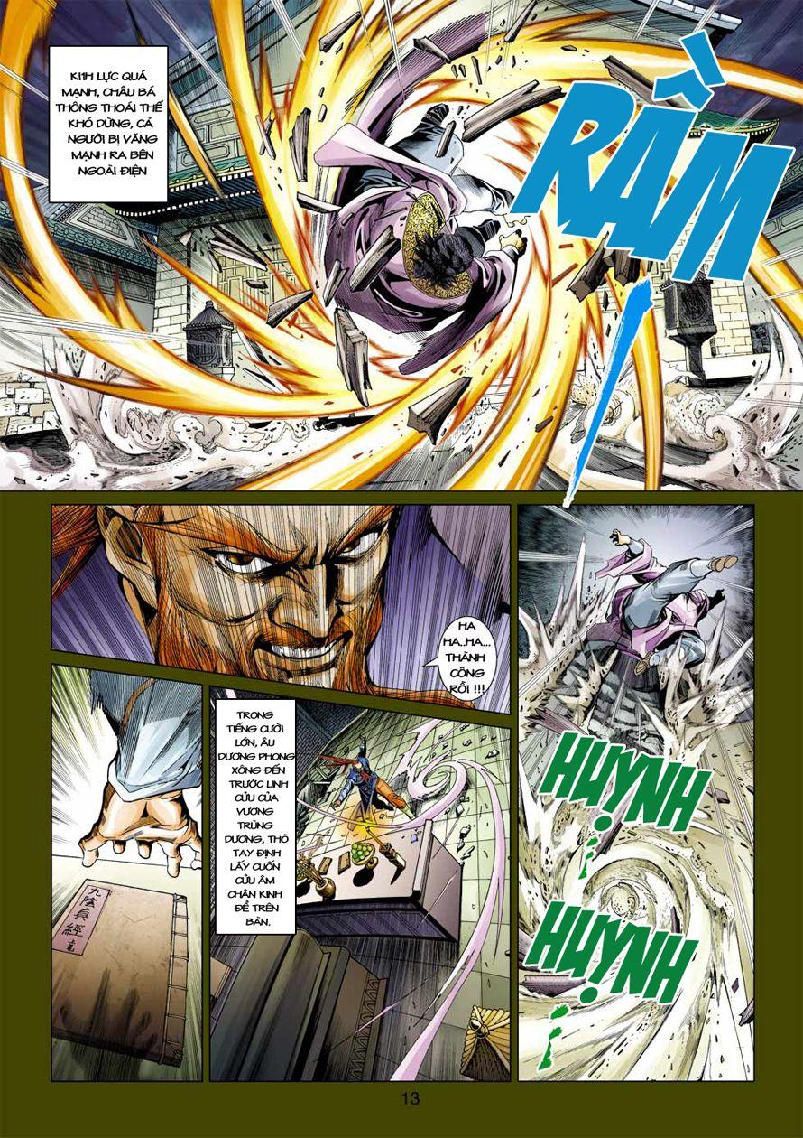 Anh Hùng Xạ Điêu anh hùng xạ đêu chap 41 trang 12