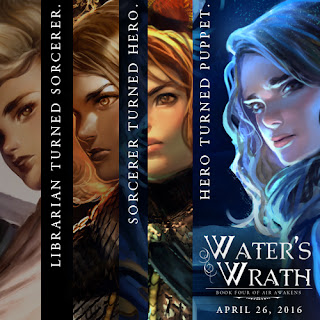 Water's Wrath: Book 4 of the Air Awakens series!
