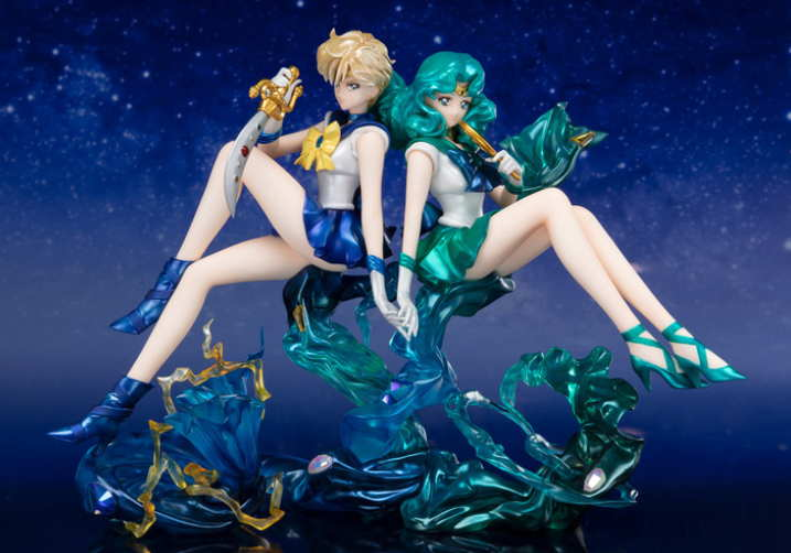 Action Figure Sailor moon : Uranus dan Neptune 2019