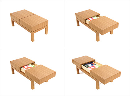 15 Cool and Creative Multi Purpose Coffee Tables.