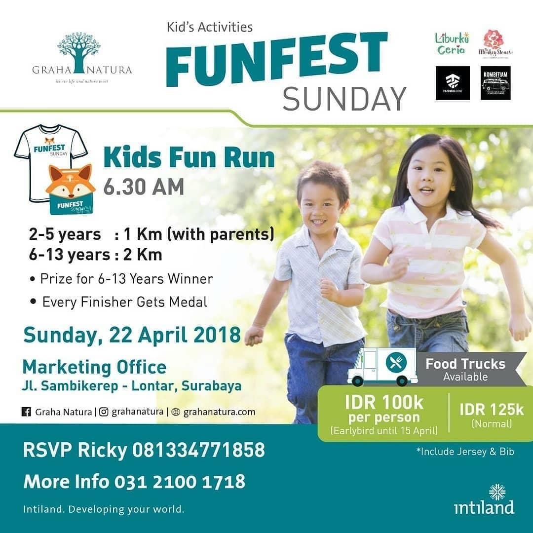 Kids Fun Run • 2018