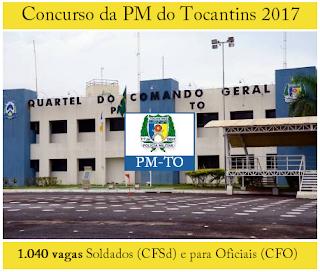 Apostila concurso PM Tocantins (PM TO) 2017