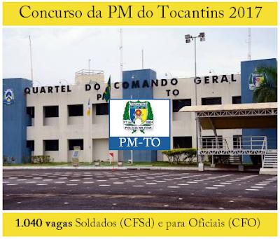Apostila concurso PM Tocantins (PMTO) Curso de Formação de Soldados