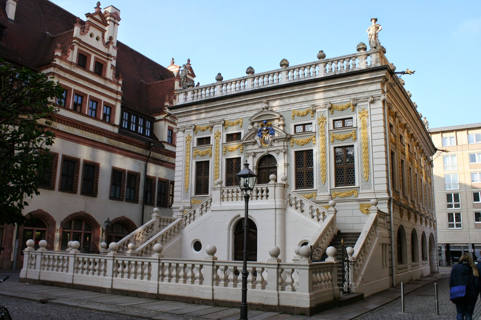 Alte Börse am Leipziger Naschmarkt