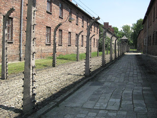 Auschwitz - electric fences