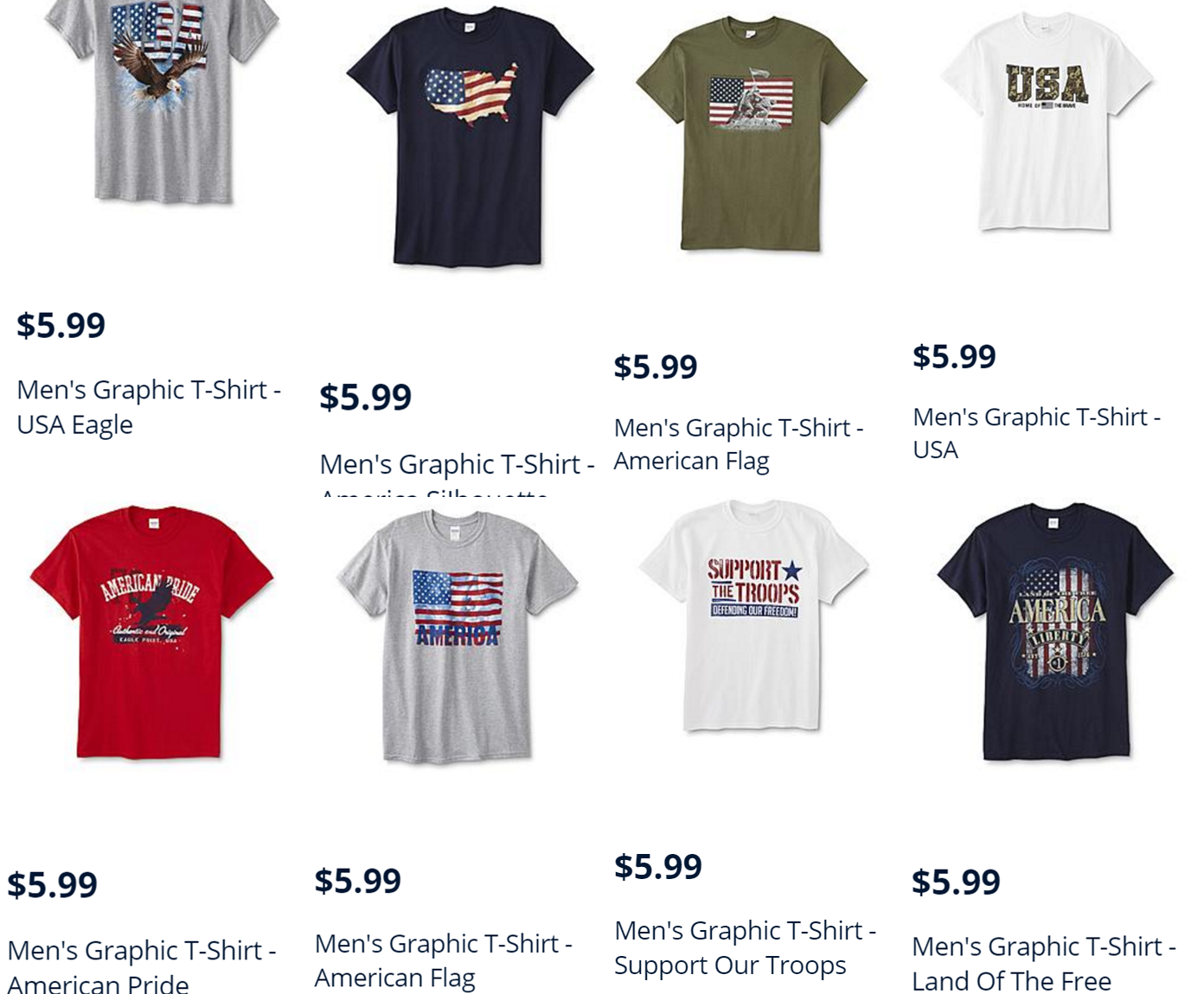 244d7048349 DEAD]Kmart: Moneymaker Men's T-Shirts – Points Roll! Must Pay $0.01 Oop