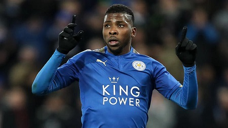 Iheanacho Scores First VAR Goal In England