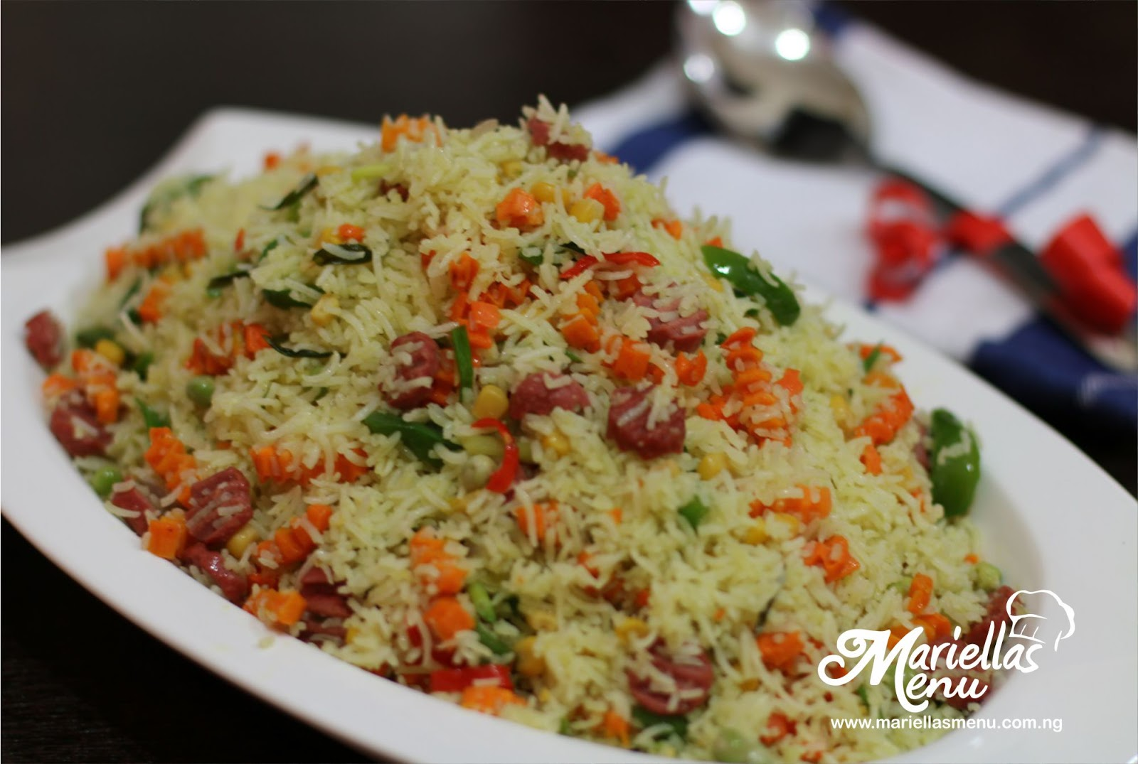 Mariellasmenu veggie stir fried rice on the menu today is the delicious veggie stir fried rice an amazing one pot rice dish that will make your family hurry on to the table ccuart Image collections