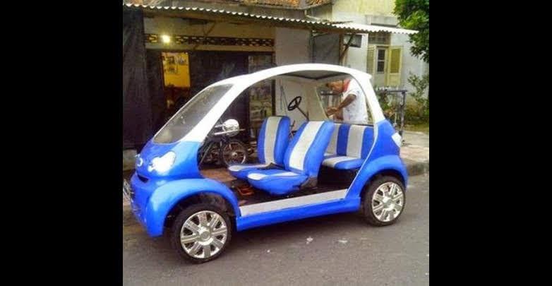 mobil listrik Wiwien Vegas