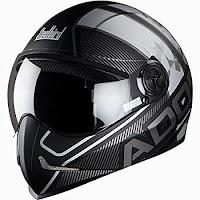 Steelbird Men's ISI Certified Helmet Adonis Majestic