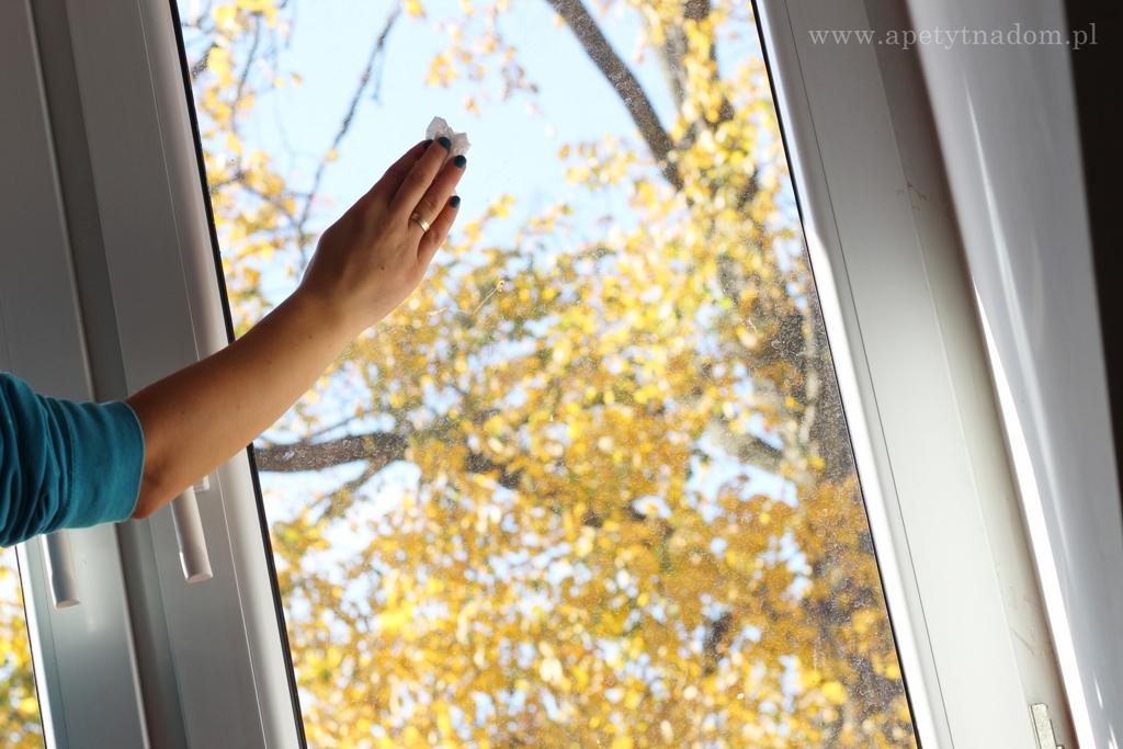 mycie okien octem