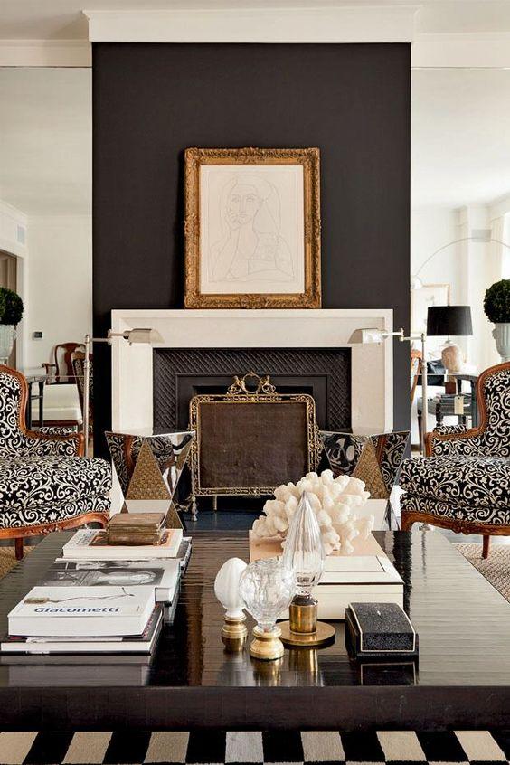 focal wall fireplace