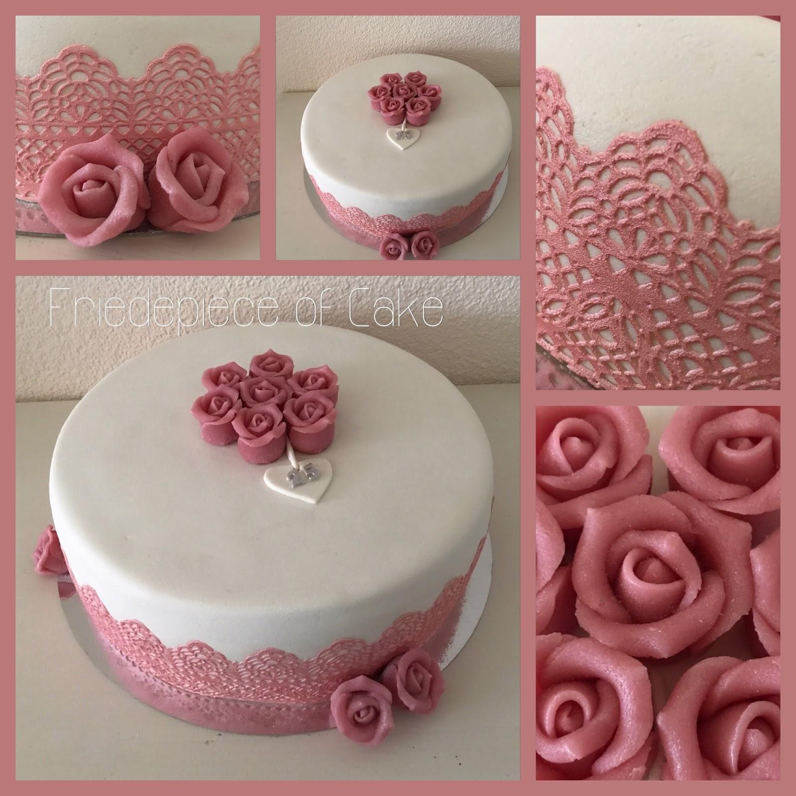 Goede Friedepiece of Cake: 25 jaar getrouwd... LO-78