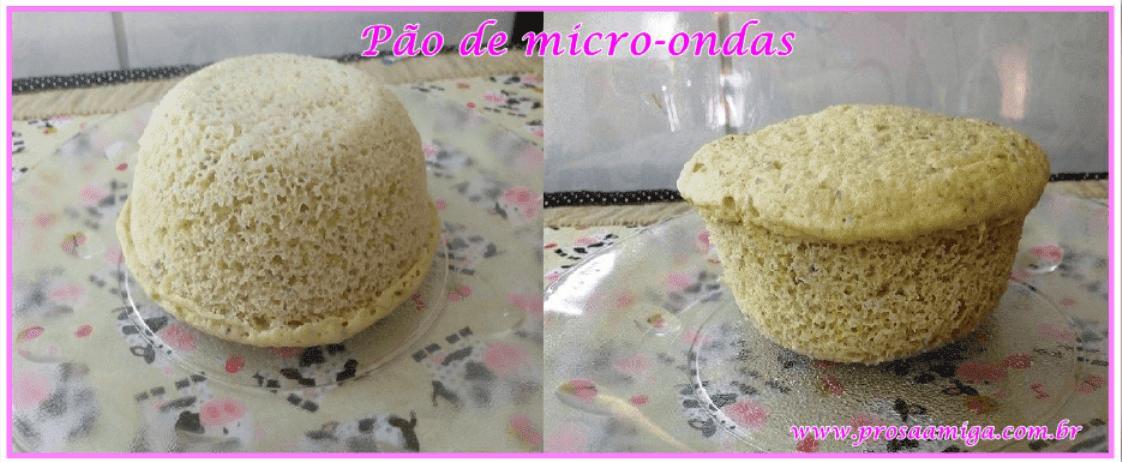 Pão de micro-ondas