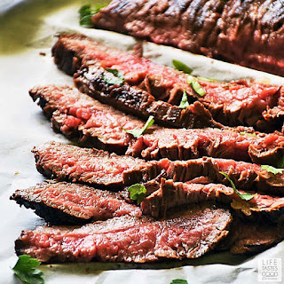 Cast Iron Flank Steak