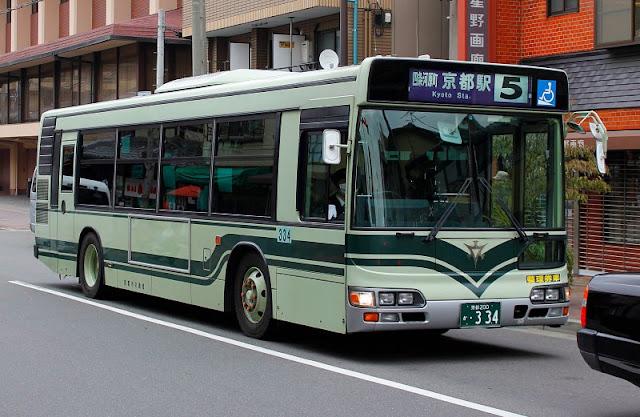 Autobús de Kioto
