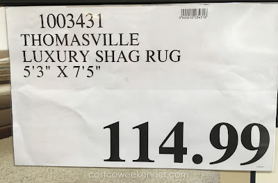 Deal for the Thomasville Luxury Shag Rug at Costco