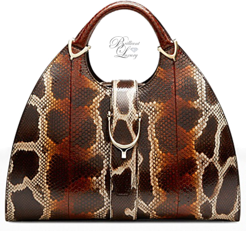 Brilliant Luxury ♦ Gucci Phyton Hobo Bag