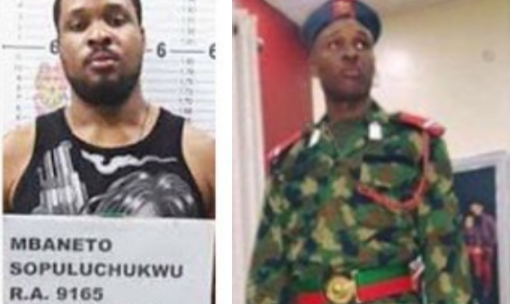 Ex-Nigerian Army Officer Apprehended With Drugs In A Country Where They Kill For Such Offence