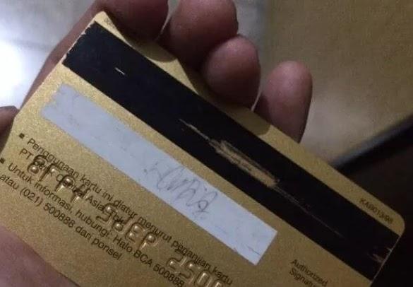 Cara Mengatasi Kartu ATM yang Tidak Terbaca Karena Pita Hitam Rusak