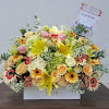 Flower Box Ulang Tahun Ketua Bhayangkari Jawa Timur