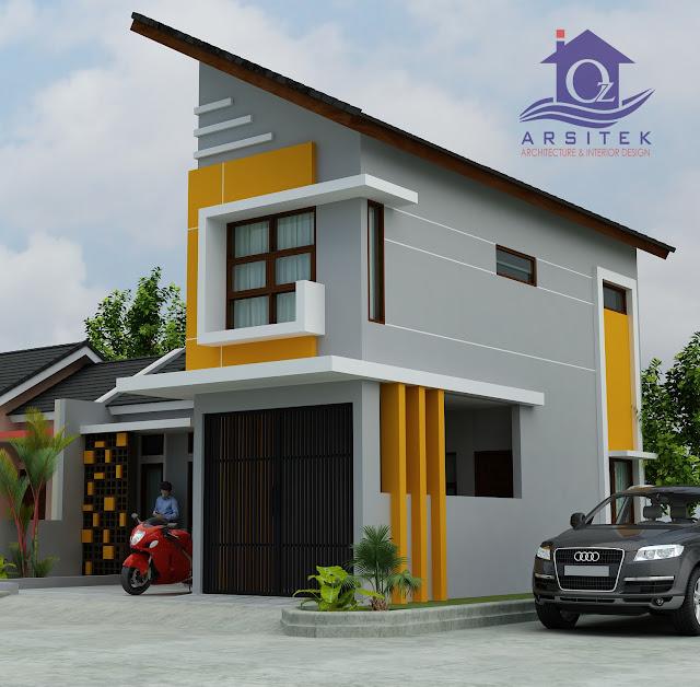 Desain Eksterior Rumah Ibu Tety di Cikarang