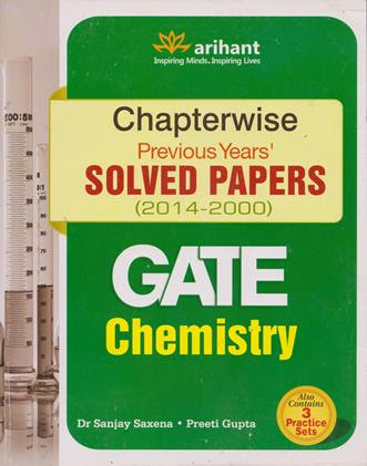 CHAPTER WISE SOLVED PAPERS CHEMISTRY GATE