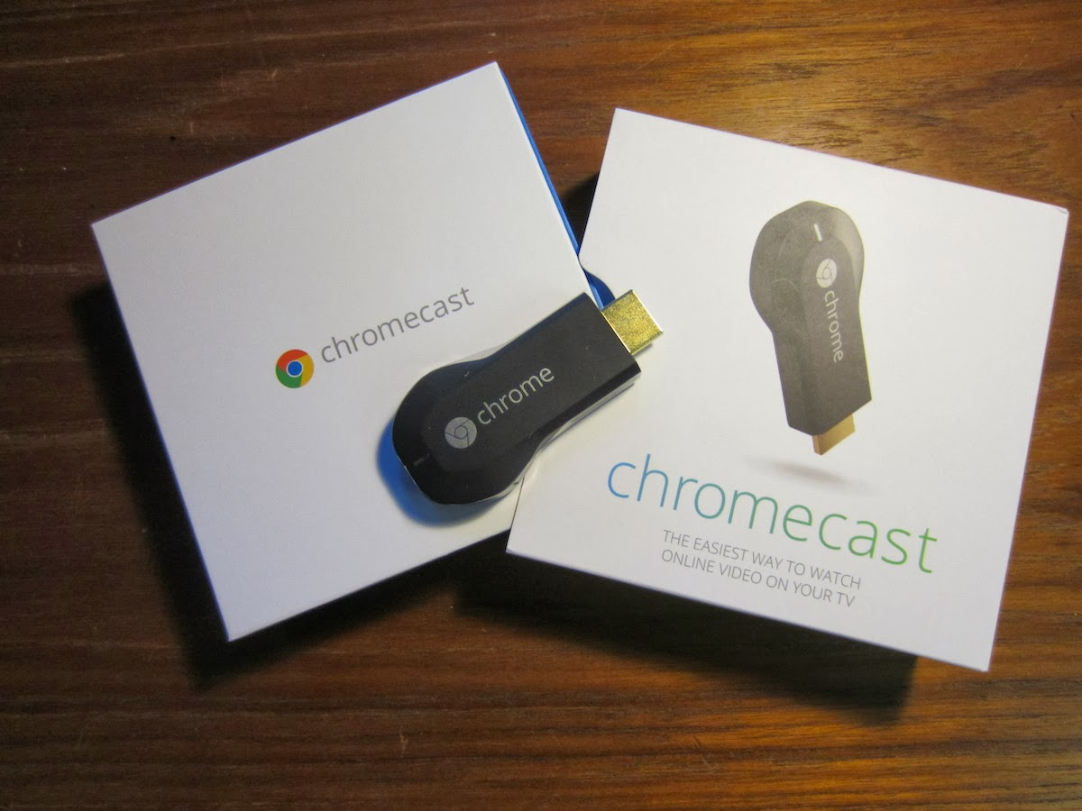 Fortysomething Geek: Google Chromecast short review