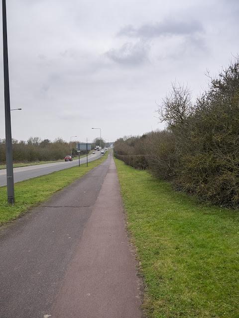 View Along Watling Street