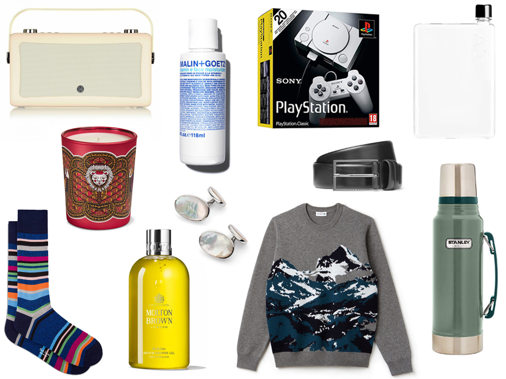 Christmas gift guide for him - British style blog